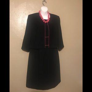 Positive Attitude 2-pc dress w/jacket size 14